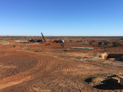 Drilling at Musgrave's Cue Gold Project in WA's Murchison region
