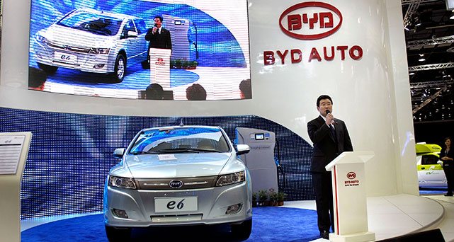Toyota teams up with China's BYD to build EVs